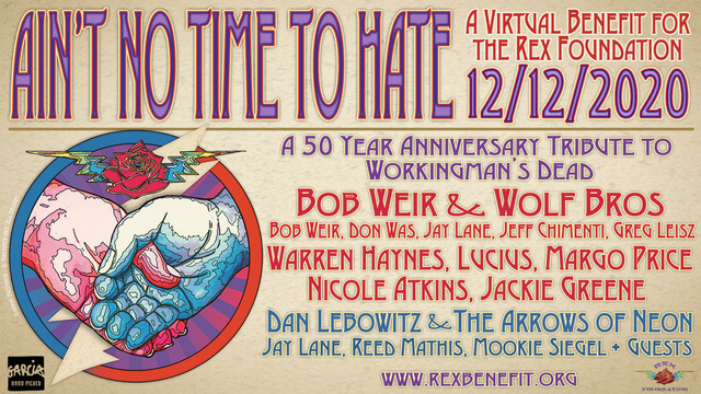 Warren Haynes Added to Rex Foundation's 'Ain't No Time to Hate' Virtual Benefit Show