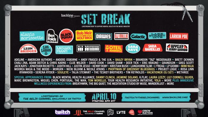 Tom Morello, Wyclef Jean, Mimi Naja, phoffman and More Added to Backline's Set Break Benefit Livestream